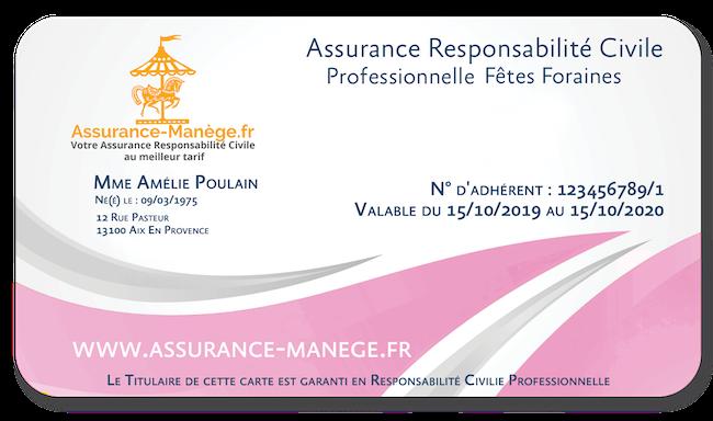 Assurance Responsabilité Civile Pro Fêtes Foraines Niveau 2
